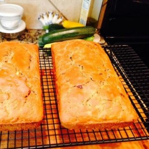 Lower Sugar Zucchini Bread
