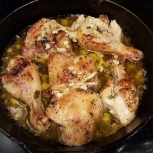 Sue's Gluten Free Lady Lemon Garlic Chicken